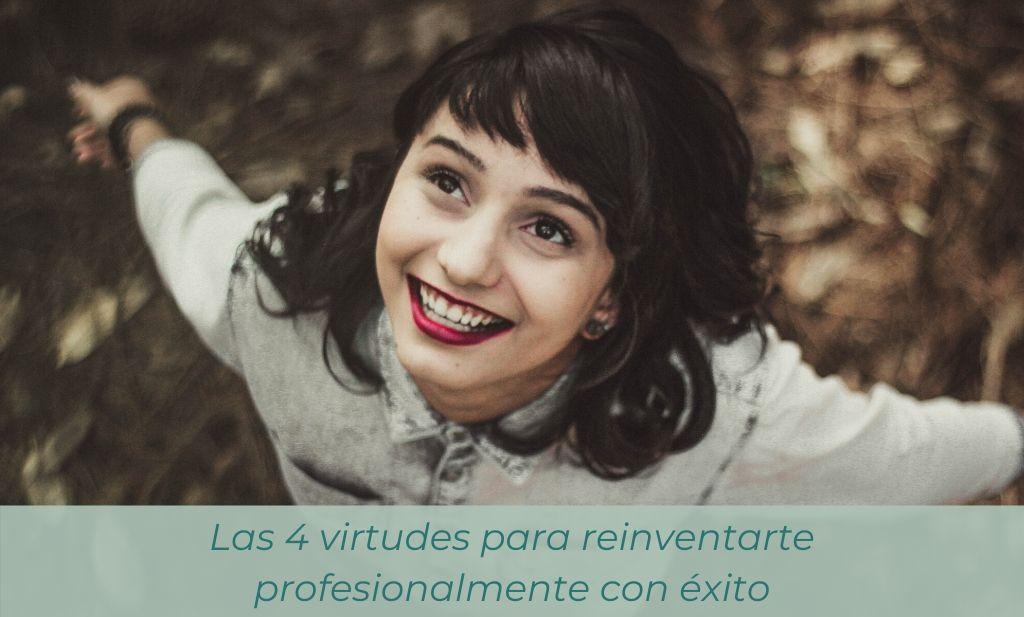 virtudes para reinventarte profesionalmente